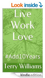 live work love Terry Williams kindle cover 150