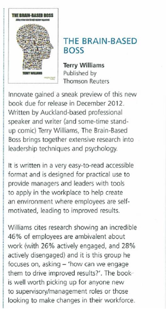 Review BBB Innovate Magazine Dec2012