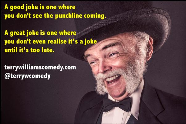 a good joke is